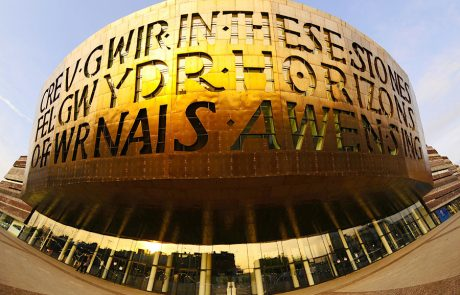 Millennium Centre, Cardiff - on Wales Coast Path