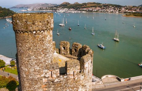 Wales Coast Path: Conwy Castle: North Wales Coast