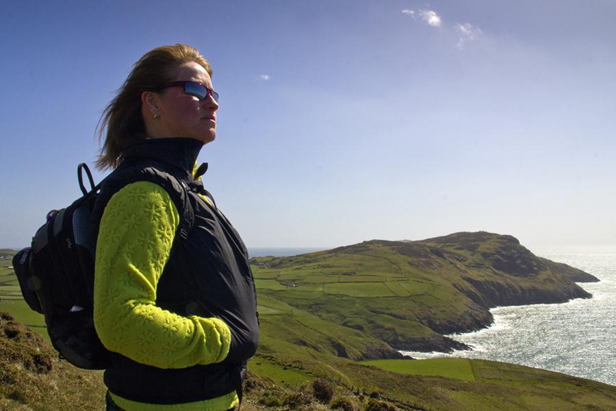 Uchmynydd on the end of the Llyn Peninsula