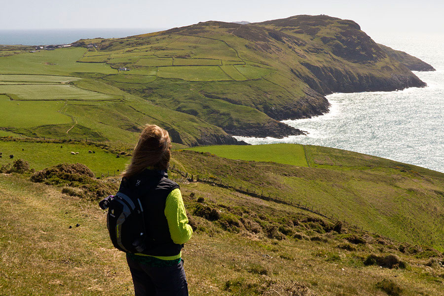 Wales Coast Path, tip of the Llyn Peninsula