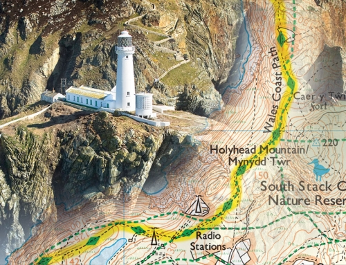 Best maps for walking the Wales Coast Path