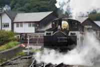 Porthmadog steam train