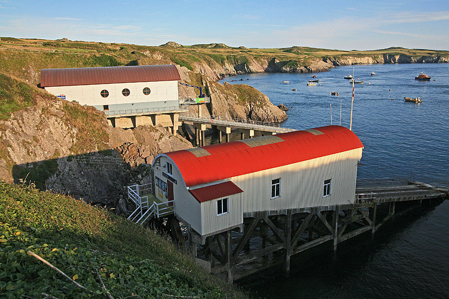 St Justinian's lifeboat station, Pembrokeshire