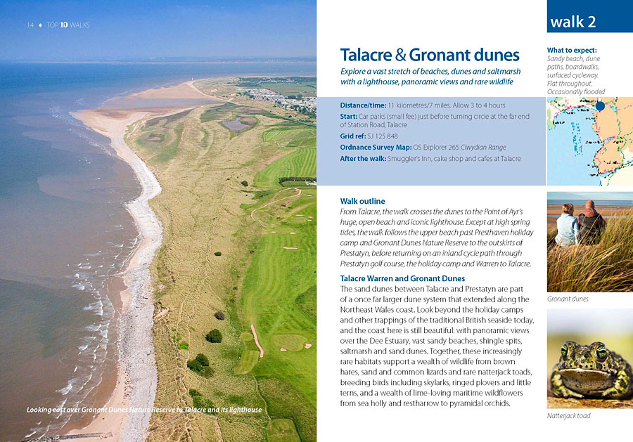 Top 10 Walks: Wales Coast Path: North Wales Coast