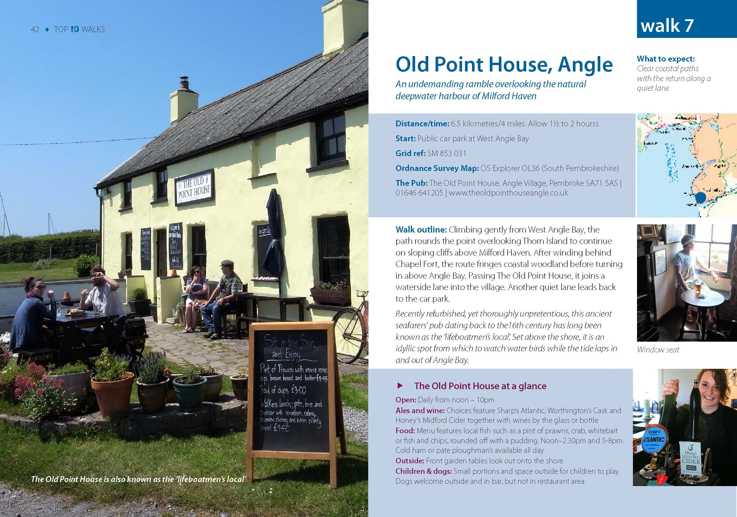 Top 10 Pembrokeshire Pub Walks