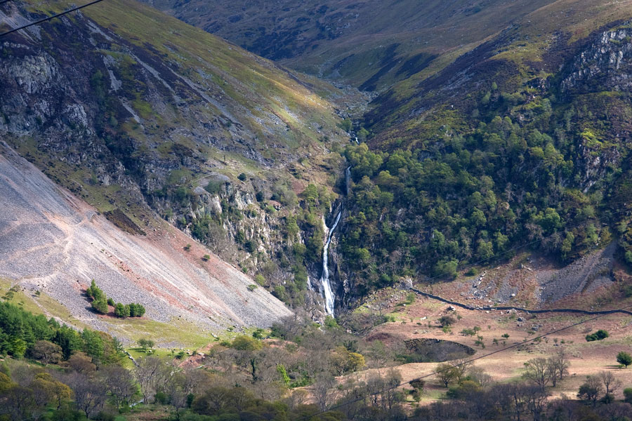 The mighty Aber Falls is one of Wales' highest waterfalls