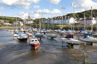 Aberaeron on the Ceredigion coast