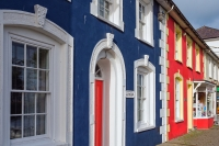 Colourful Aberaeron is on the Wales Coast Path