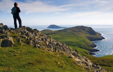 Wales Coast Path: overlooking Bardsey Island, Llyn Peninsula