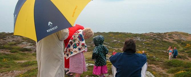 Overlooking Bardsey Island