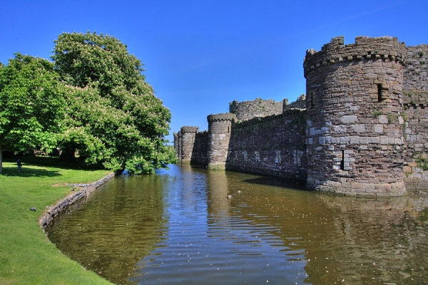 Beaumaris Castle is the last of Edward I's 'Iron Ring'