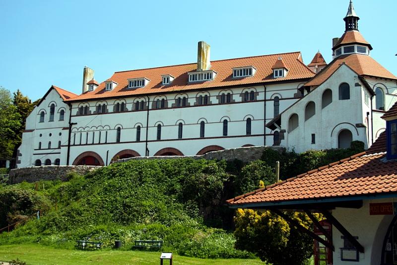 Monastery on Caldey Island