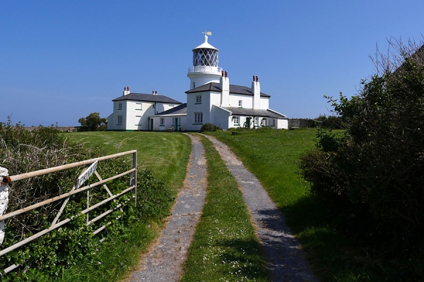 Caldey Island lighthouse
