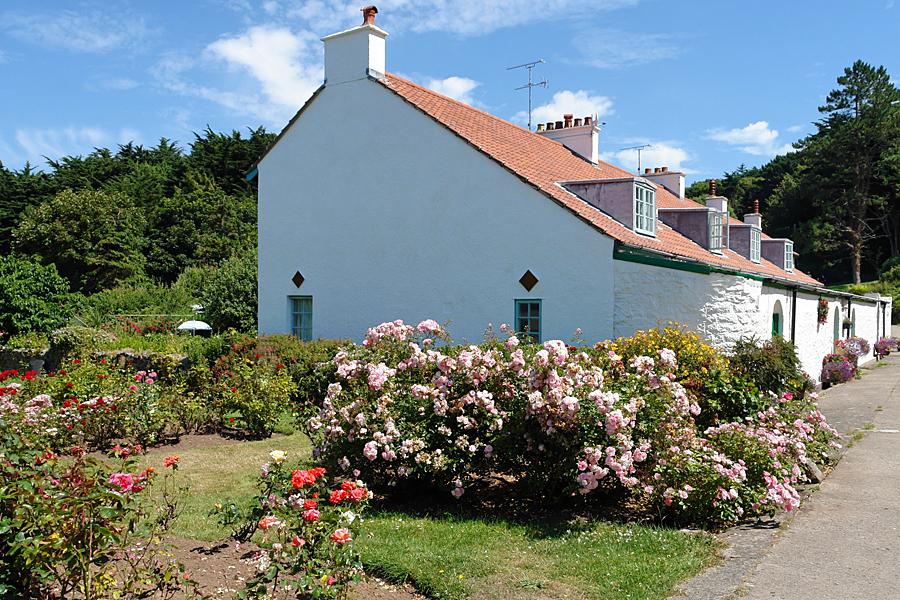 Caldey Island in summer