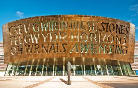 Wales Coast Path: Millennium Centre, Cardiff