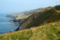 Ceredigion section of the Wales Coast Path