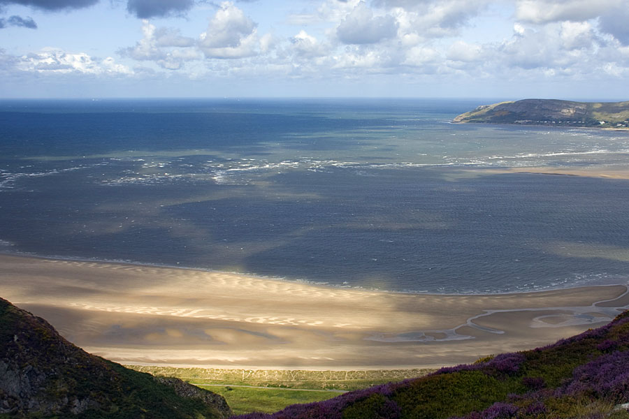 Sea view from Conwy Mountain