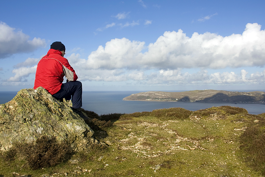 View from top of Conwy Mountain