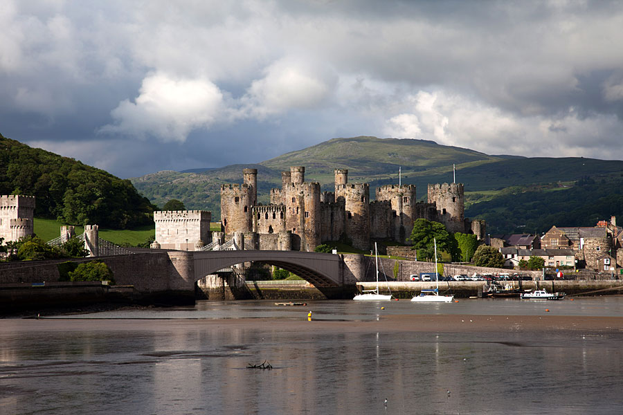 River Conwy and Conwy Castle