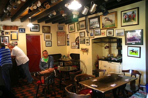 Inside the Cresselly Arms, Cresswell Quay