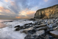 Dunraven Bay, on the South Wales Coast