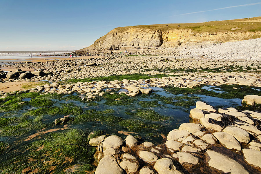 Dunraven Beach on the Glamorgan Heritage Coast