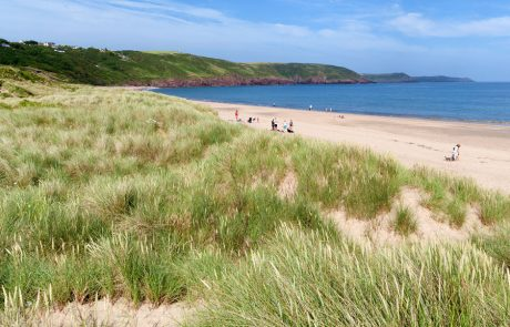 Wales Coast Path: Freshwater East, Pembrokeshire