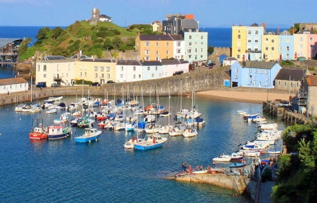 Tenby on The Wales Coast Path