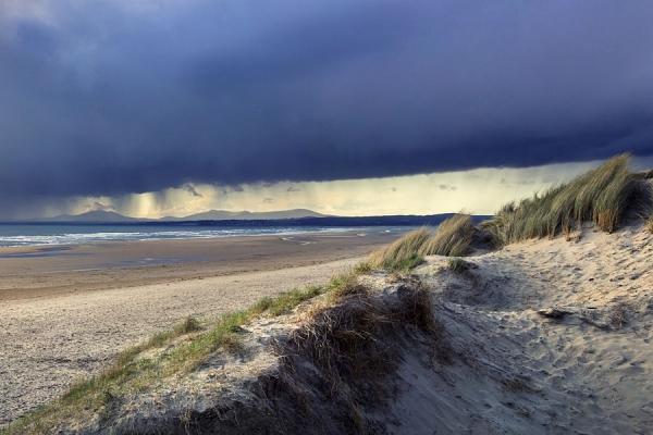 Storm light on Harlech Beach