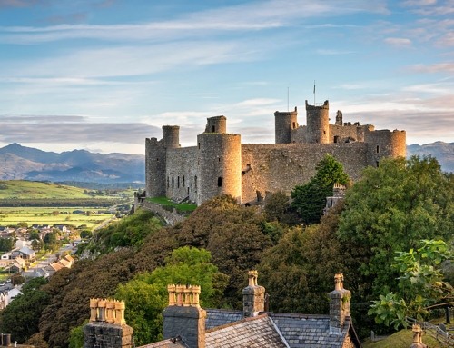 Exploring Harlech Castle on the Wales Coast Path