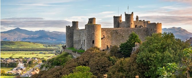 Harlech Castle, Gwynedd