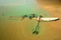 Plane wreck on Harlech Beach