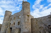 Harlech Castle inner ward