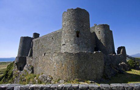 Wales Coast Path: Harlech Castle, Gwynedd