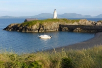 Views to Snowdonia from Llanddwyn Island, Anglesey