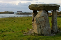 Cromlech at Moelfre, Isle of Anglesey