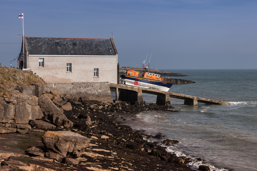 Moelfre lifeboat station, Isle of Anglesey