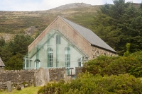 Nant Gwrtheyrn, converted chapel, on the Llyn Peninsula
