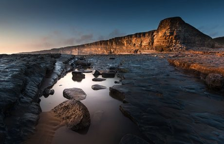 Wales Coast Path: Nash Point, South Wales Coast