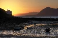 Porthdinllaen sunrise and Yr Eifl