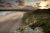 Oxwich Bay on the Gower peninsula