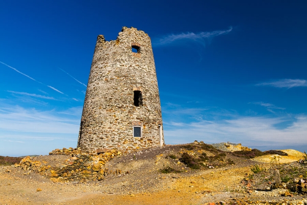 Parys Mountain windmill, Isle of Anglesey