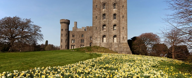 Penrhyn Castle, a National Trust property