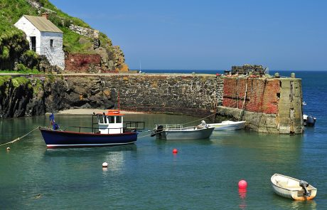 Wales Coast Path: Porthgain harbour, Pembrokeshire