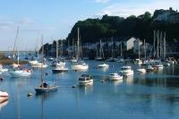 Porthmadog Harbour, Gwynedd, on the Wales Coast Path