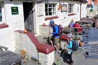 The popular Sloop Inn at Porthgain, Pembrokeshire