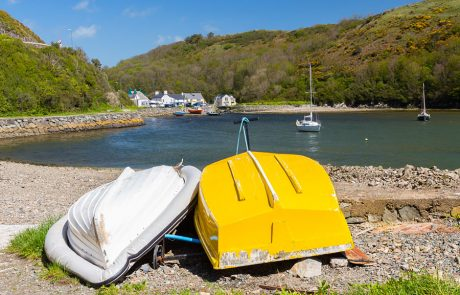 Wales Coast Path: Solva harbour, Pembrokeshire