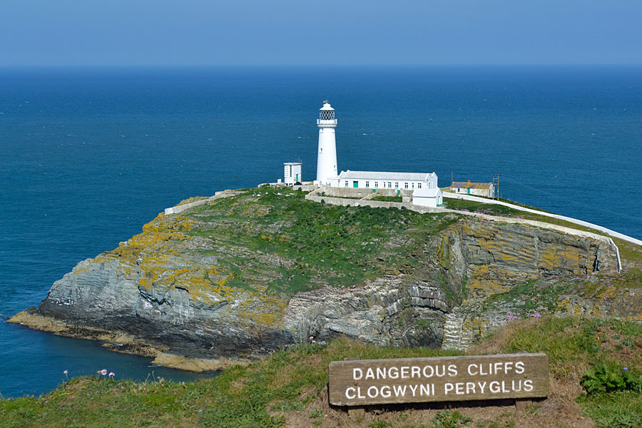 South Stack lighthouse, Holyhead Mountain, Anglesey