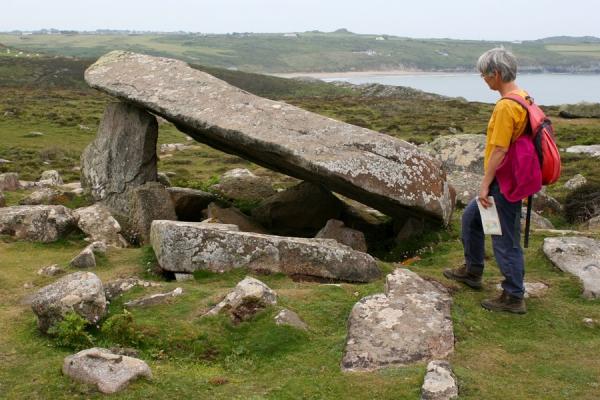 Cromlech on St Davids Head, Pembrokeshire