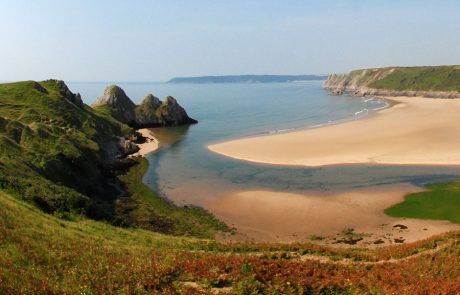 Wales Coast Path: Three Cliffs Bay, Gower